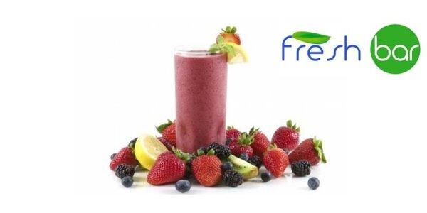 19 Kč za půl litru fresh džusu v jabloneckém Fresh baru se slevou 72%!