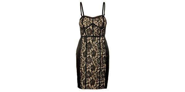 Dámské krajkové šaty Guess