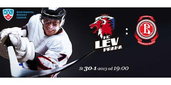 Vstupenky na KHL: LEV Praha-Viťaz Čechov