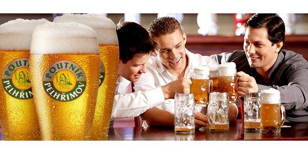 Tři piva Poutník 12° v hostinci u Daana
