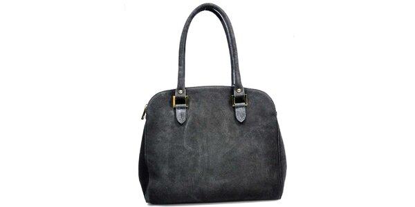 Dámská černá semišová kabelka Giulia