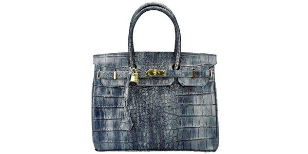 Dámská kabelka se zlatým zámečkem Giulia