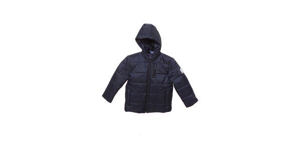 Dětská tmavě modrá prošívaná zimní bunda Buby