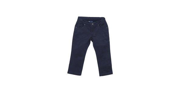 Dětské tmavě modré kalhoty Buby