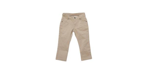 Dětské světle béžové kalhoty Buby