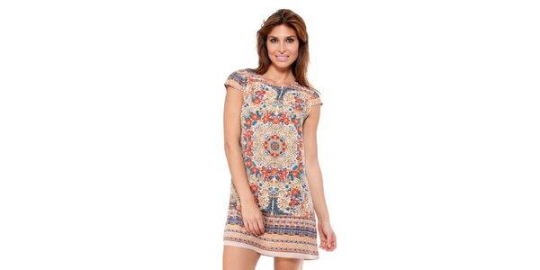 Dámské pestrobarevné šaty Janis
