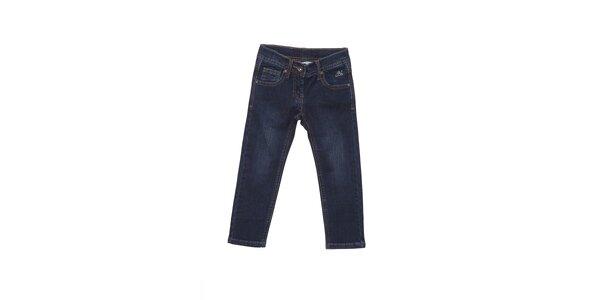 Dětské tmavě modré džíny Buby