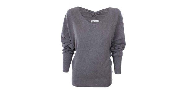 Dámský šedý svetr Nice Tricot