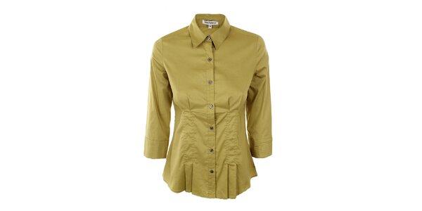 Dámská žlutozelená košile Emma Pernelle