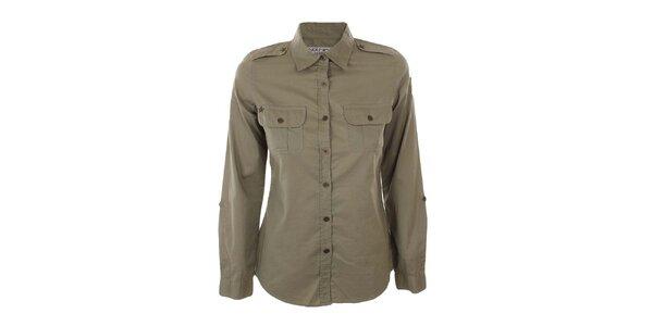 Dámská vojenská khaki košile Nothing Else