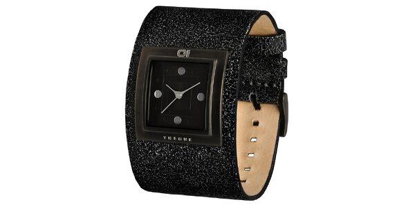 Pánské náramkové hodinky s hranatým ciferníkem The One