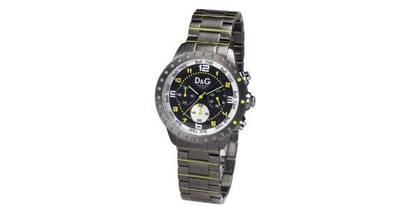 Analogové hodinky s výraznými prvky Dolce & Gabbana