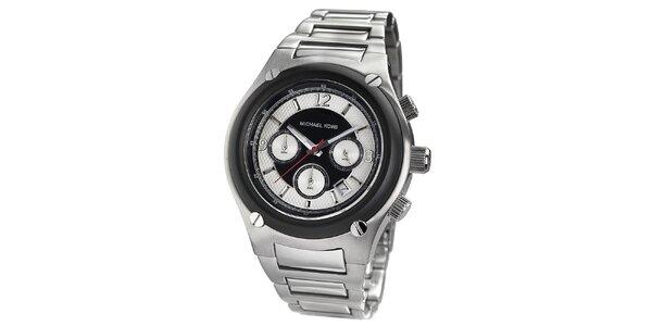 Pánské stříbrné hodinky s chronografem Michael Kors