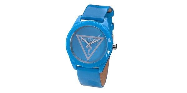 Dámské modré hodinky Guess