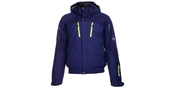 Pánská modrá lyžařská bunda West Scout s membránou