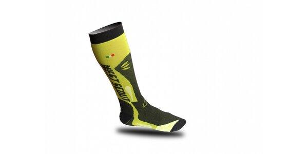 Zeleno-šedé lyžařské ponožky West Scout
