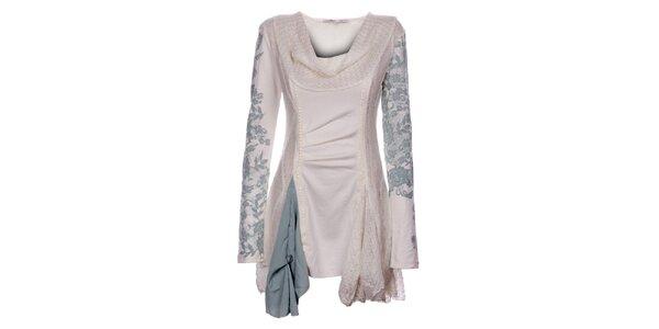 Dámské zimní krémové šaty Angels Never Die