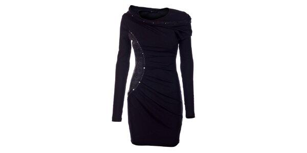 Dámské černé šaty Angel Never Die