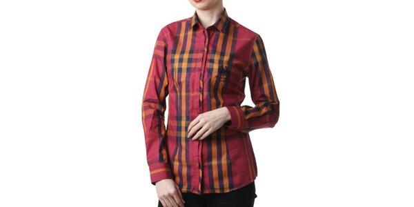 Dámská červená kostkovaná košile Frank Ferry
