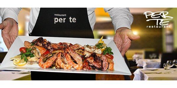 Grilované dary moře (1000 g) v restauraci Per Te