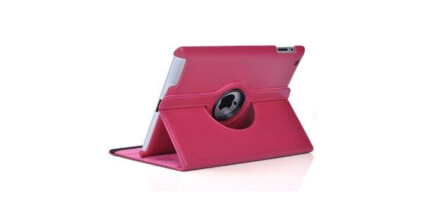 Růžový kryt HOLE na iPad Mini