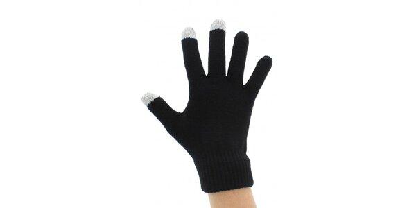 Dotykové rukavice černé - pro všechny typy smartphonů a tabletů