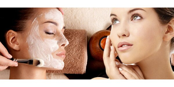 90 min kosmetiky včetně masky a masáže