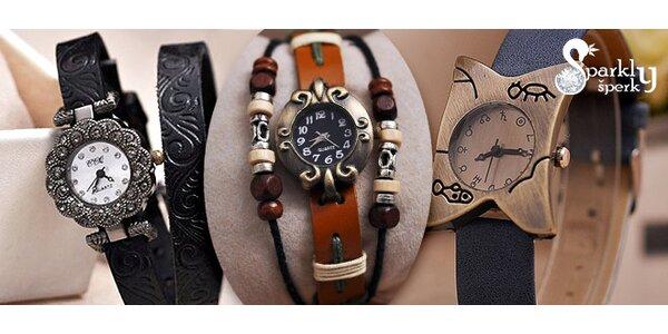 Zbrusu nové modely dámských retro hodinek