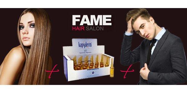 Špičkové stříhání v luxusním salon Fame pro ženy i muže