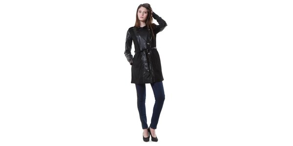 Dámský černý kabát Yes!Miss