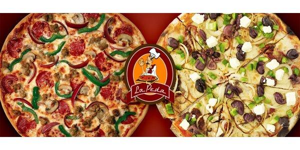 DVĚ pizzy o průměru 33 cm