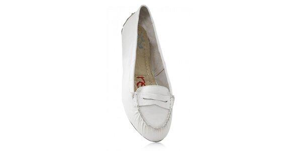 Dámské bílé skládací baleríny RedFoot