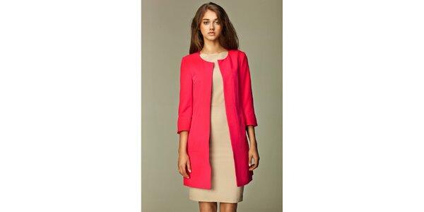 Dámský růžový kabátek Nife