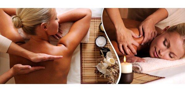 Hodina v rukou zkušeného maséra – 4 masáže na výběr