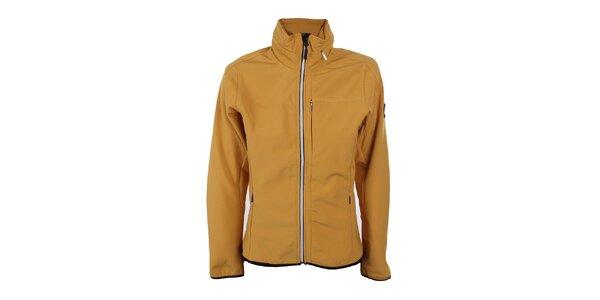 Dámská žlutá softshellová bunda Trimm