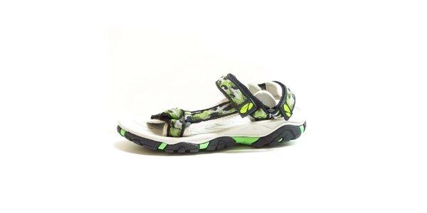 Dámské sandály se vzorovanými pásky Numero Uno