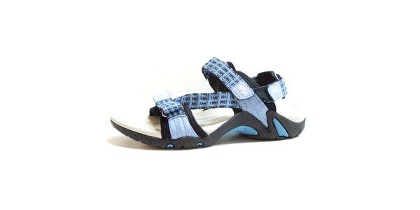 Dámské sandály s modrými pásky Numero Uno