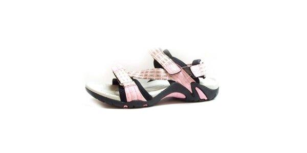 Dámské sandály s růžovými pásky Numero Uno