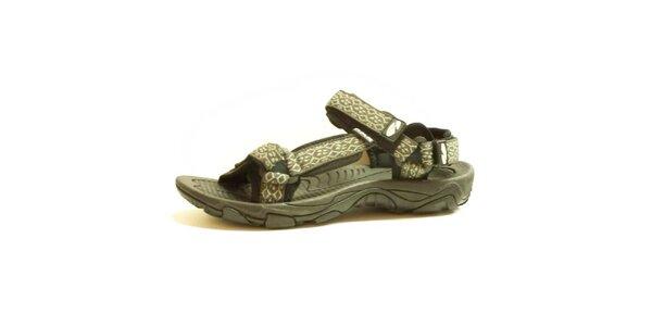 Dámské sandály se vzorovaným páskem Numero Uno