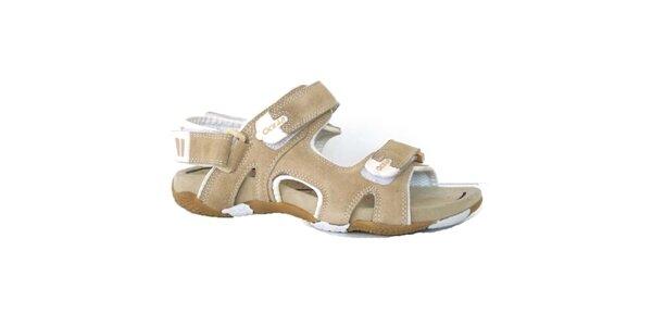 Dámské béžové sandály Numero Uno
