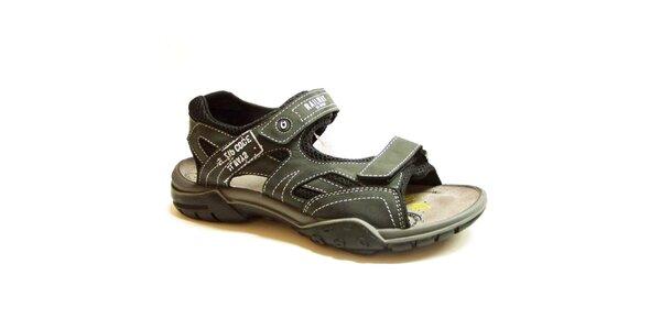 Pánské tmavě šedé sandály Numero Uno