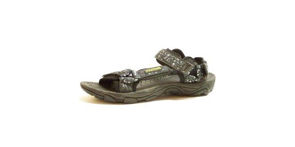 Pánské šedé vzorované sandály Numero Uno