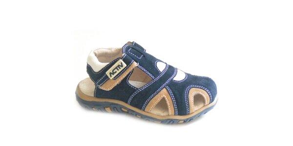 Dětské modré sandálky Numero Uno