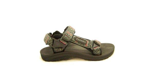 Pánské šedé trekové sandály Numero Uno