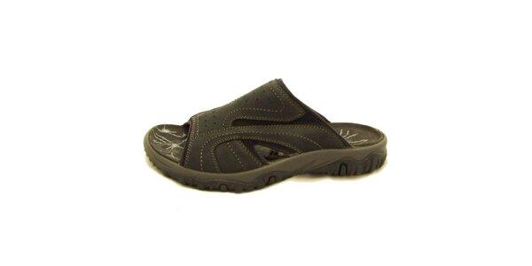 Pánské černé nazouvací boty Numero Uno