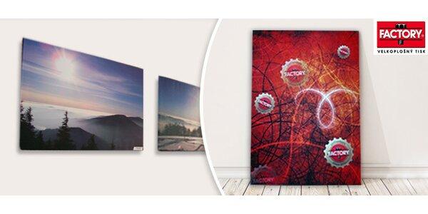 Fotoobrazy tištěné na bavlněném plátně
