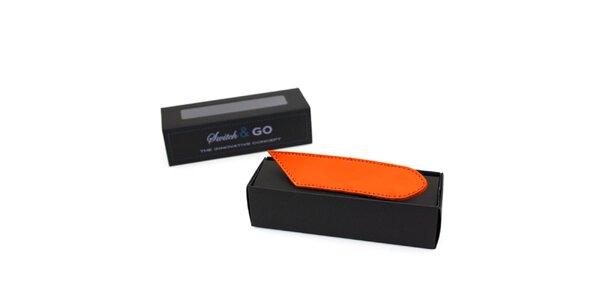 Oranžové výměnné pásky a tkaničky French Lab - řada Trendy Fancy