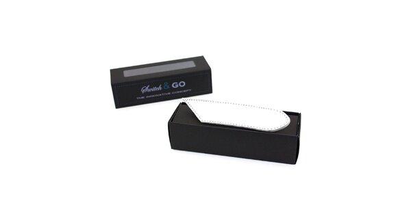 Bílé výměnné pásky a tkaničky French Lab - řada Trendy Fashion