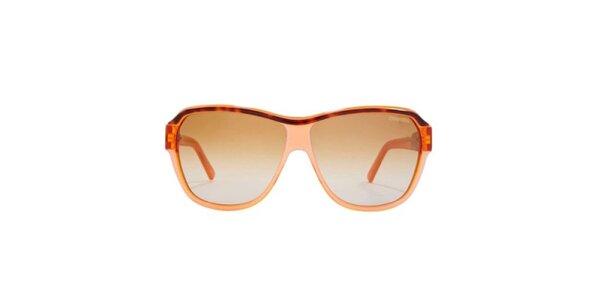 Dámské oranžové sluneční brýle Carrera
