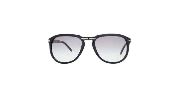 Černé sluneční brýle s hnědými skly Carrera